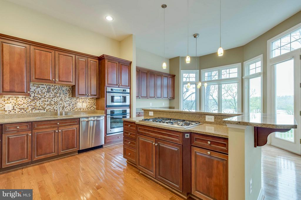 Entertainer's dream kitchen - 18376 FAIRWAY OAKS SQ, LEESBURG
