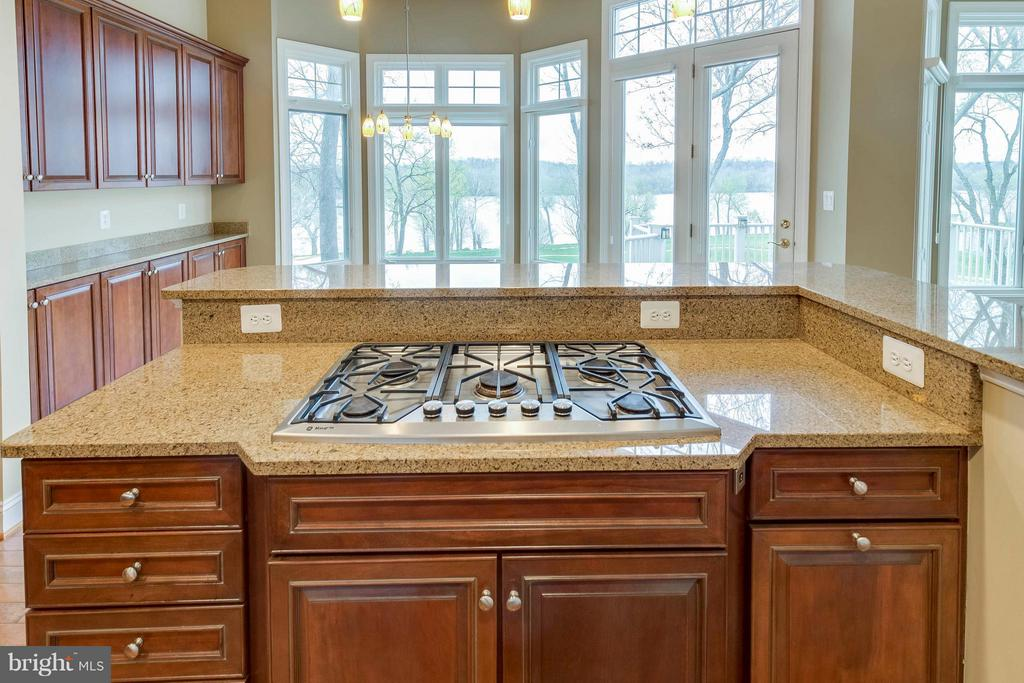 Views from the kitchen island - 18376 FAIRWAY OAKS SQ, LEESBURG