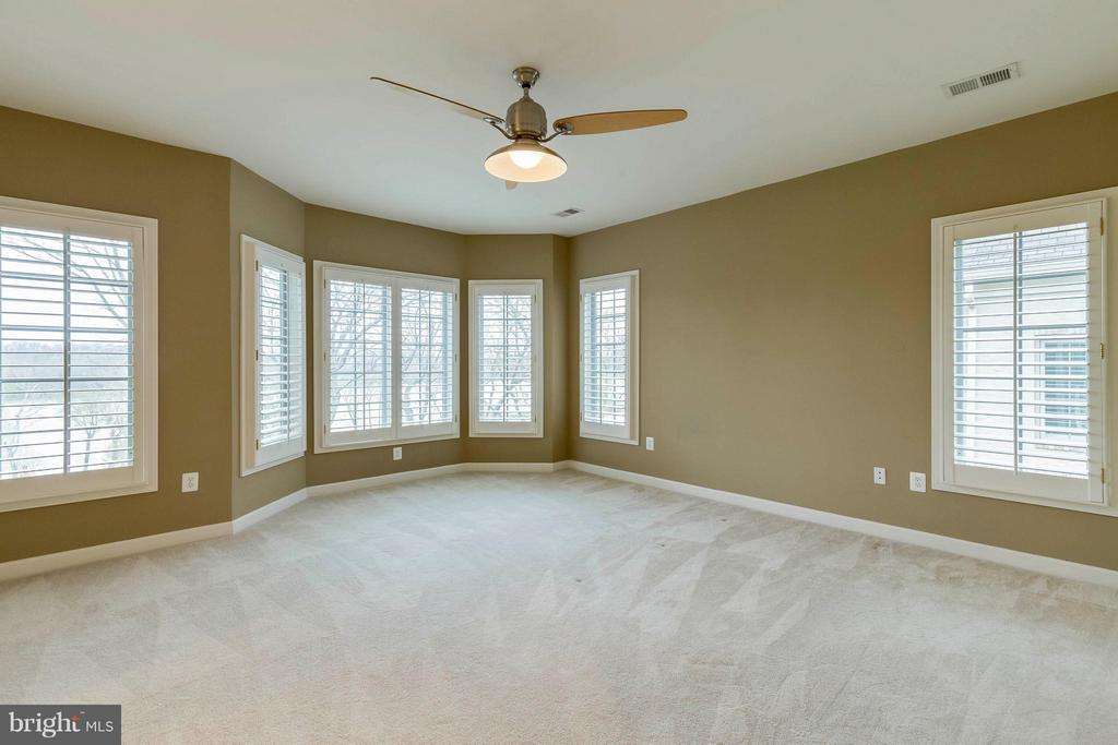 Spacious Master suite with views! - 18376 FAIRWAY OAKS SQ, LEESBURG