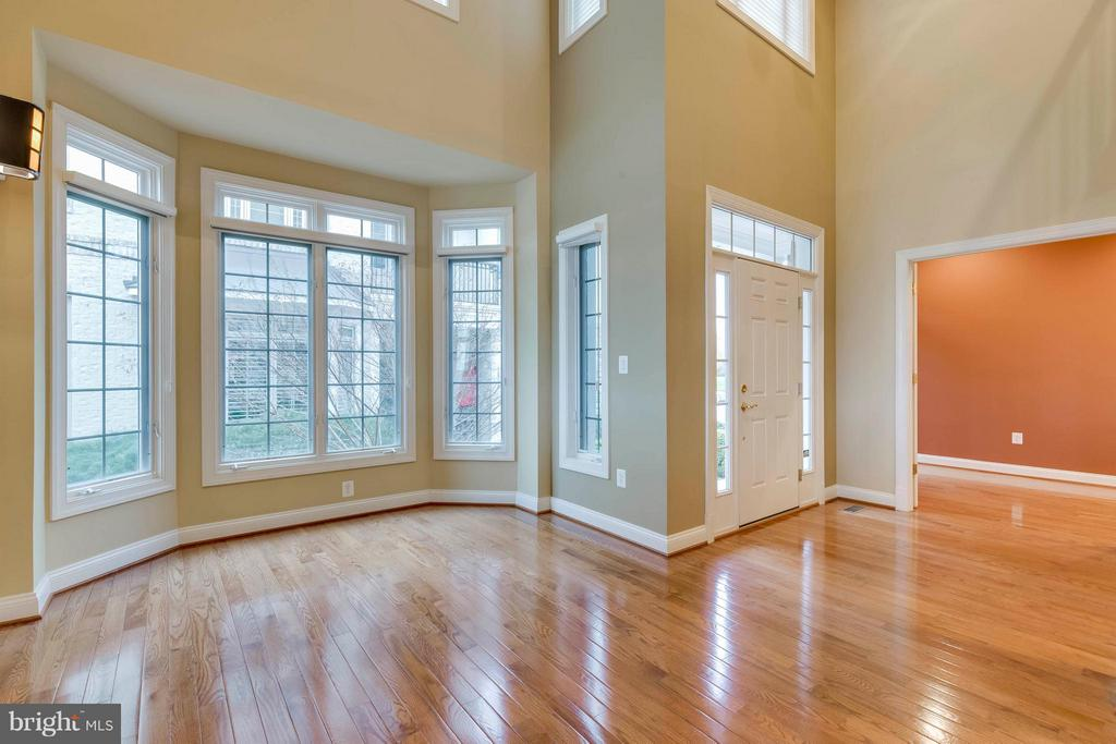 Sun filled living room - 18376 FAIRWAY OAKS SQ, LEESBURG