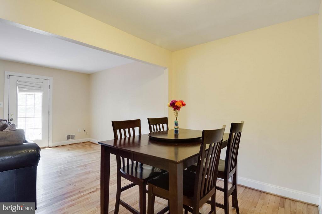 Dining Room - 12716 HARBORVIEW CT, WOODBRIDGE