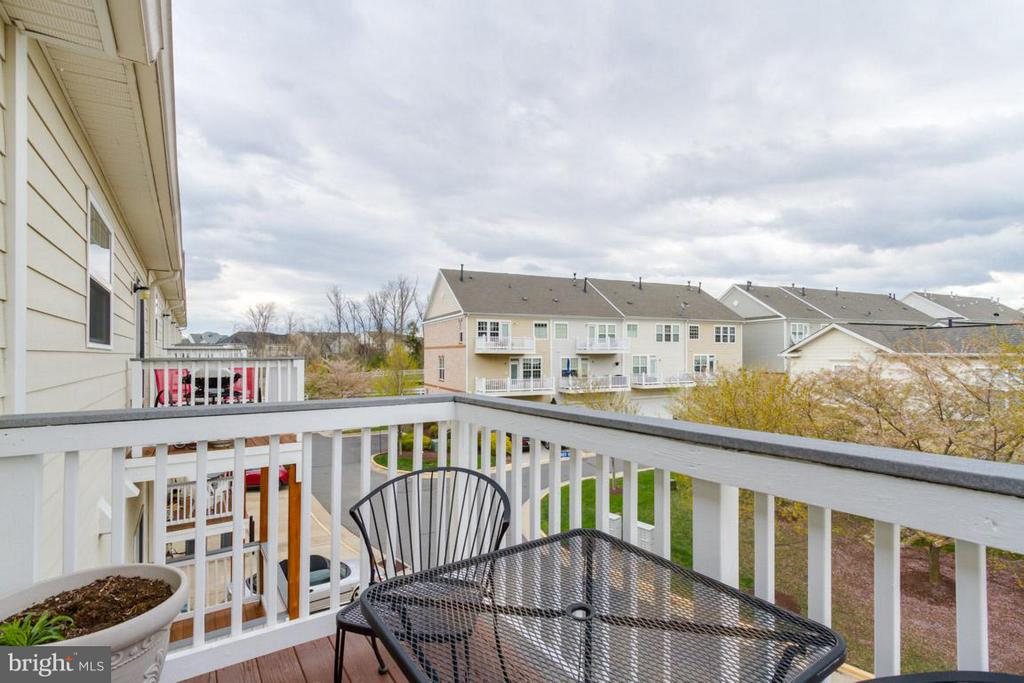 View from deck - 19330 DIAMOND LAKE DR, LEESBURG