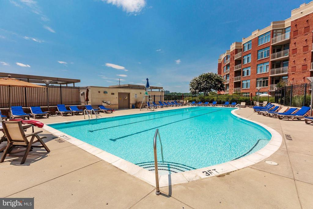 Community pool - 3600 S GLEBE RD S #428W, ARLINGTON