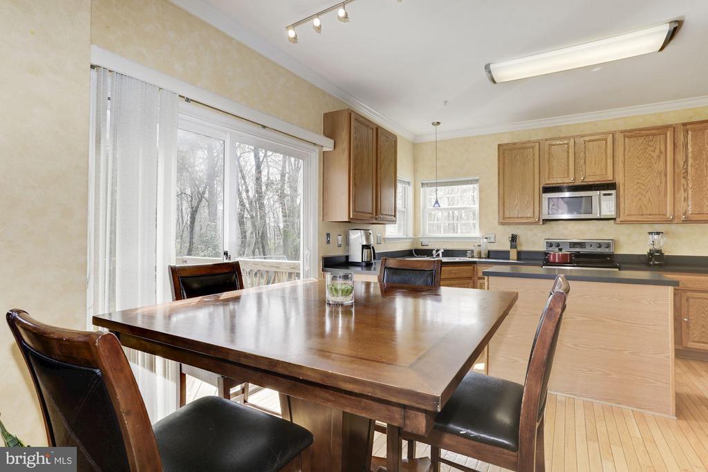 Kitchen/ Dining Area - 7809 ALLOWAY LN, BELTSVILLE