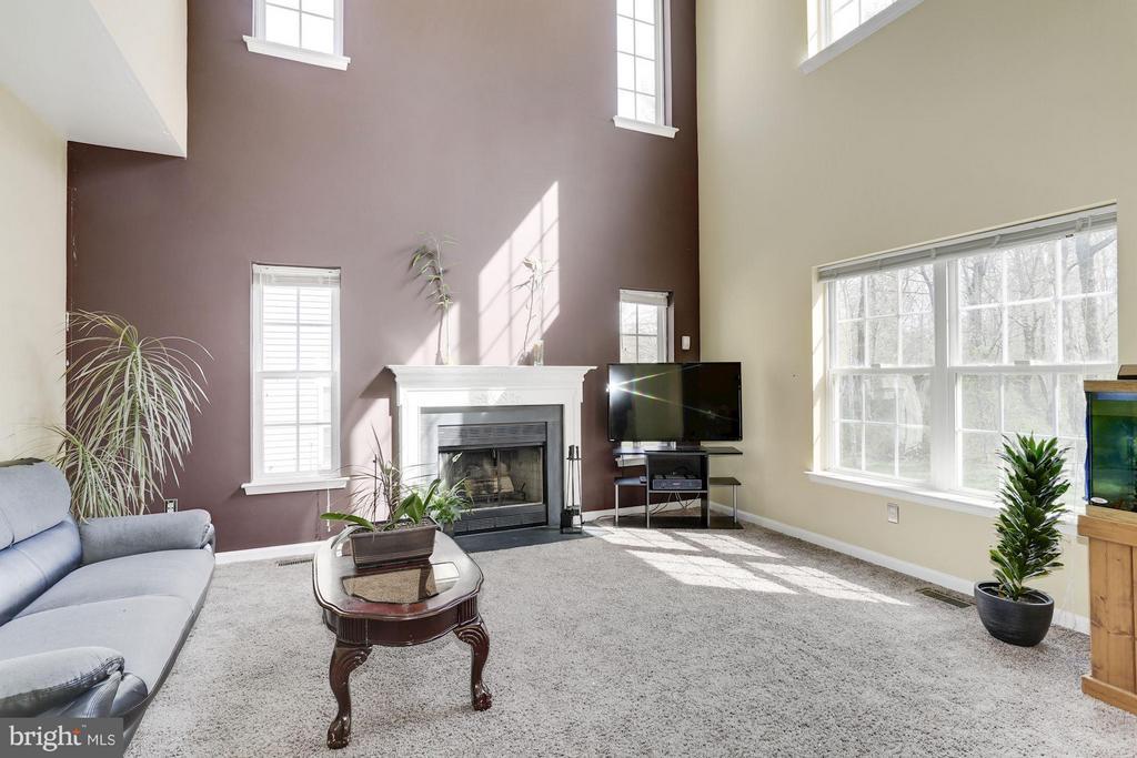 Family Room next to Kitchen - 7809 ALLOWAY LN, BELTSVILLE