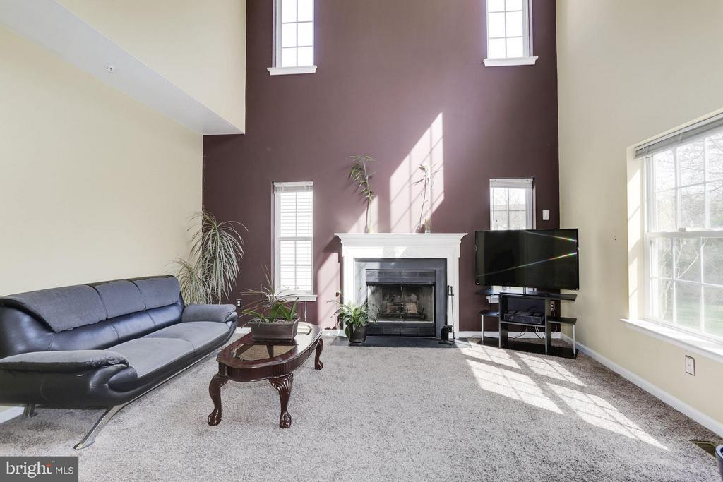 Ample Family Room with lots of Natural light - 7809 ALLOWAY LN, BELTSVILLE