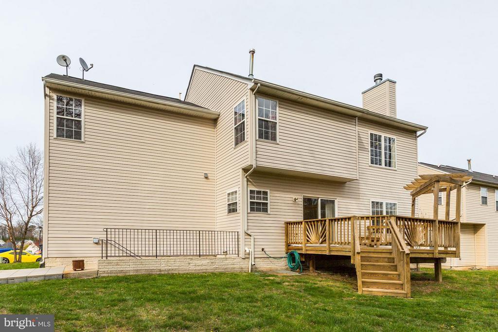 Level Backyard - 7809 ALLOWAY LN, BELTSVILLE