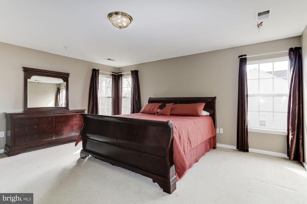 Master Bedroom with great Natural Light - 7809 ALLOWAY LN, BELTSVILLE