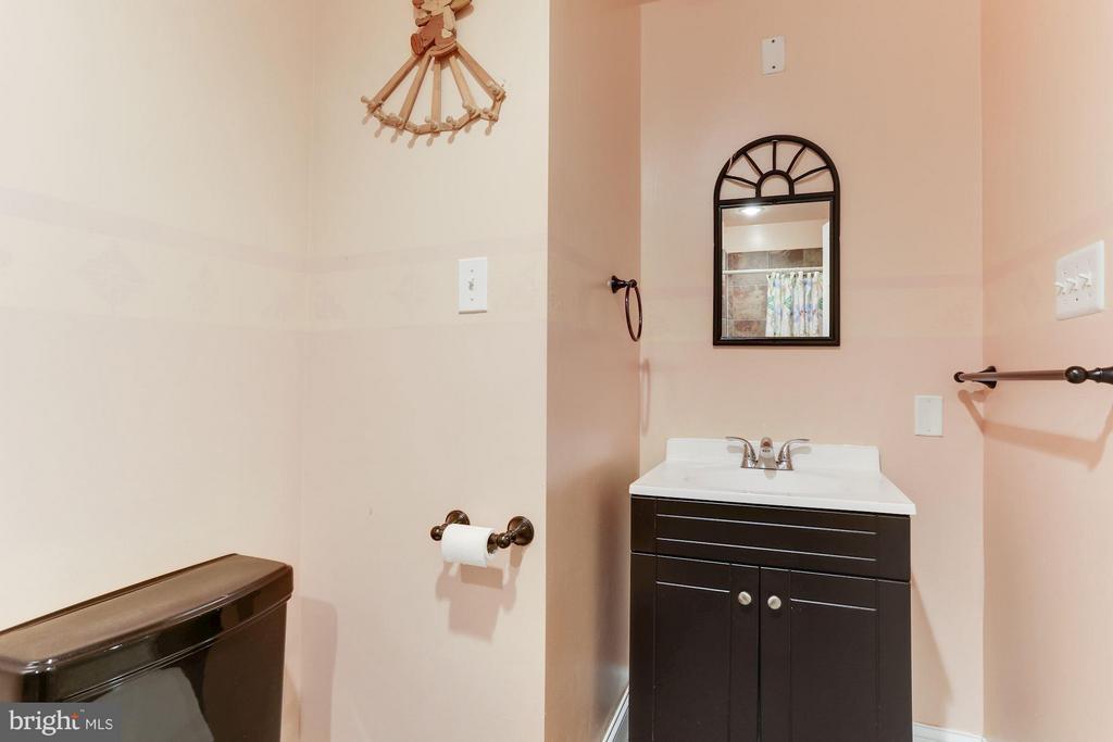 Basement Full Bathroom - 7809 ALLOWAY LN, BELTSVILLE