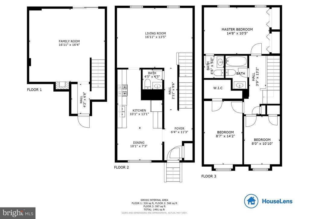 Floor Plan - 14773 DARBYDALE AVE, WOODBRIDGE