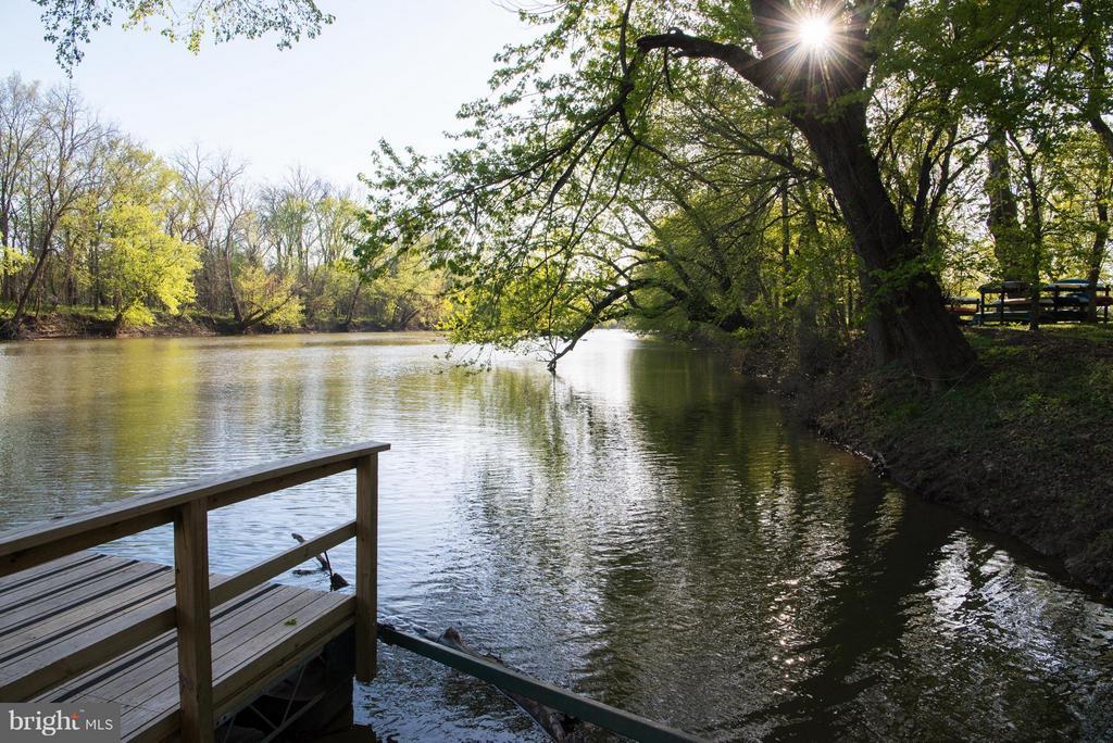 Community dock to launch your Kayak or Canoe - 43531 FIRESTONE PL, LEESBURG