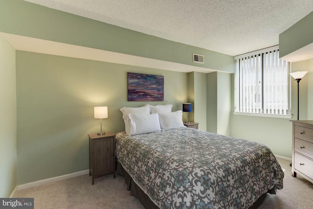 BEDROOM - SPACIOUS! - 1001 RANDOLPH ST N #320, ARLINGTON