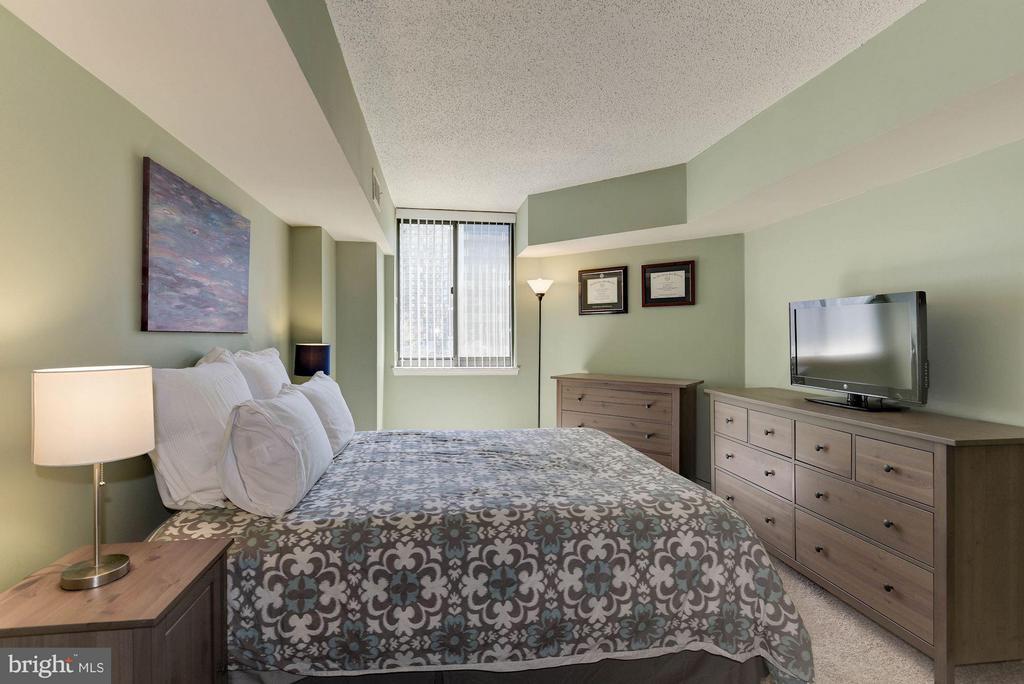 BEDROOM - BRAND NEW CARPET! - 1001 RANDOLPH ST N #320, ARLINGTON