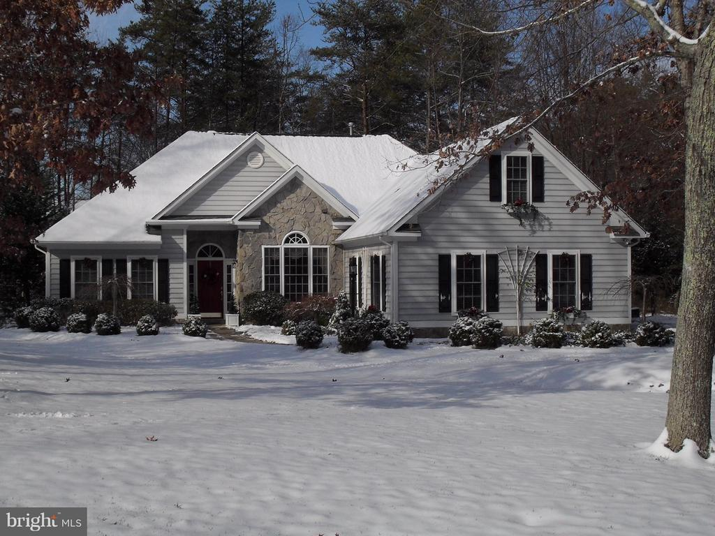 Winter photo of house - 11306 FIELD CIR, SPOTSYLVANIA