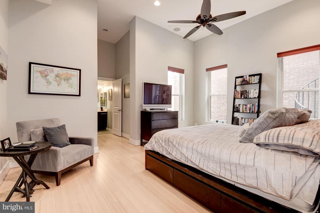 Large 16' x 12' Master Bedroom - 1303 CLIFTON ST NW #4, WASHINGTON