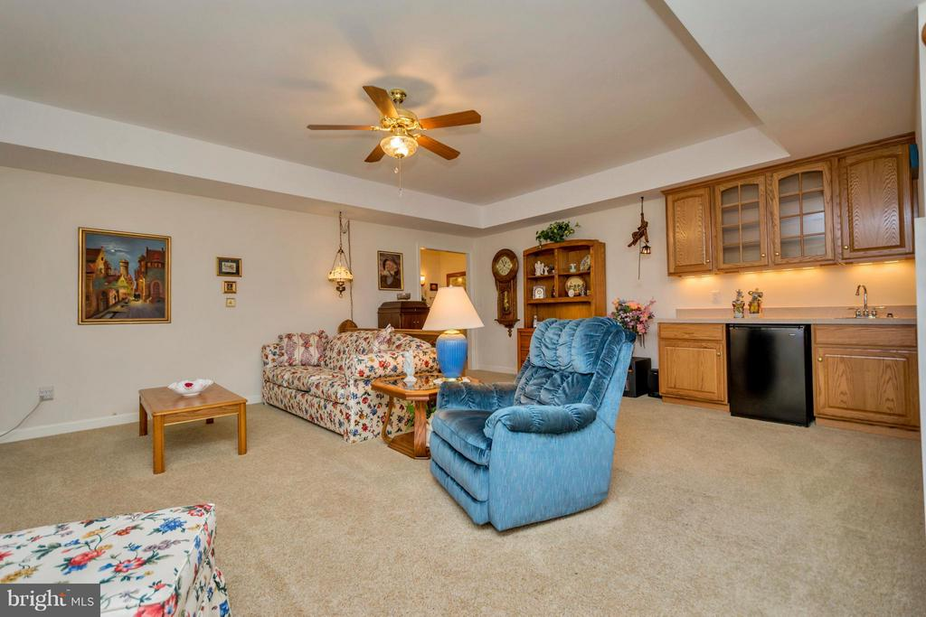 Family room Lower Level with kitchenette - 1101 EASTOVER PKWY, LOCUST GROVE