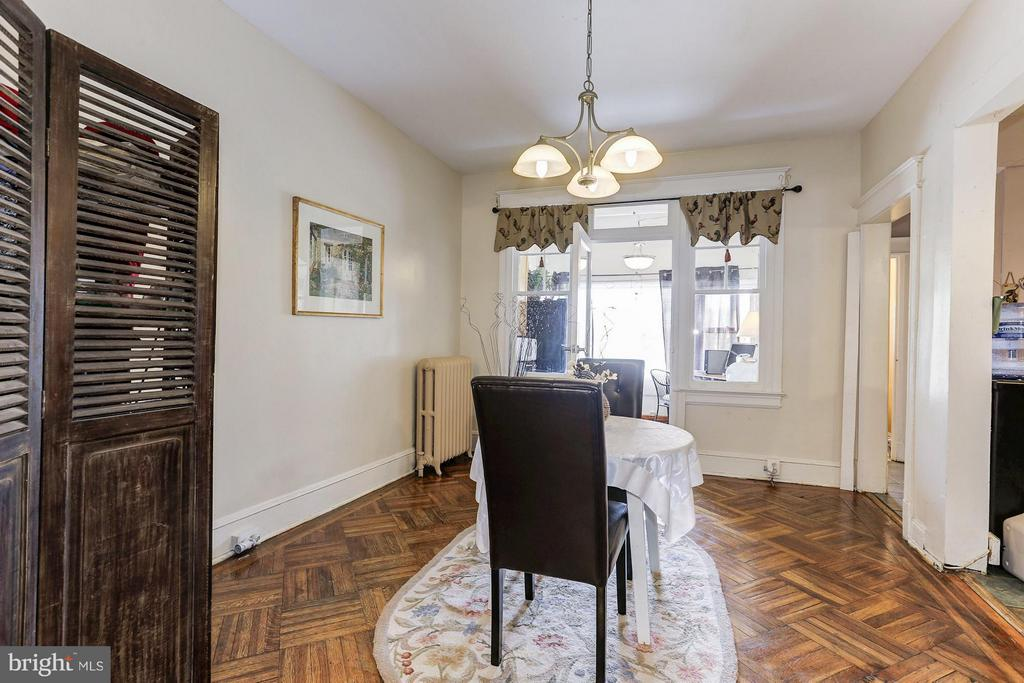 Large dining room space! - 1220 INGRAHAM ST NW, WASHINGTON