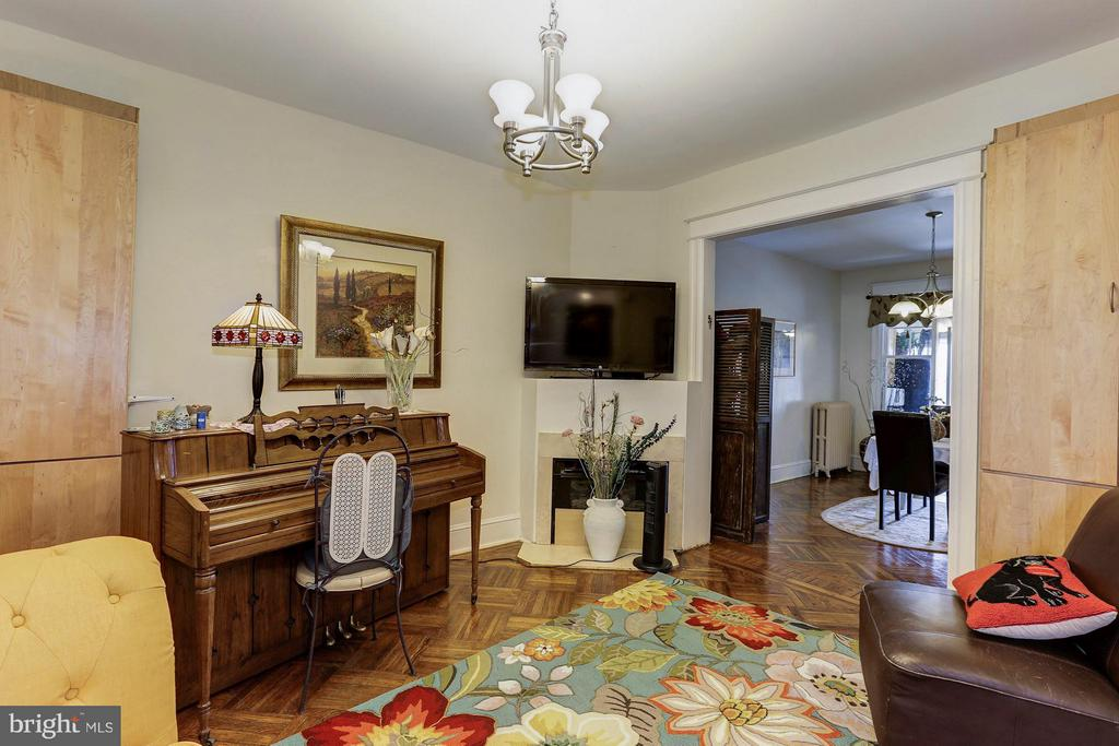 Hardwood floors throughout! - 1220 INGRAHAM ST NW, WASHINGTON