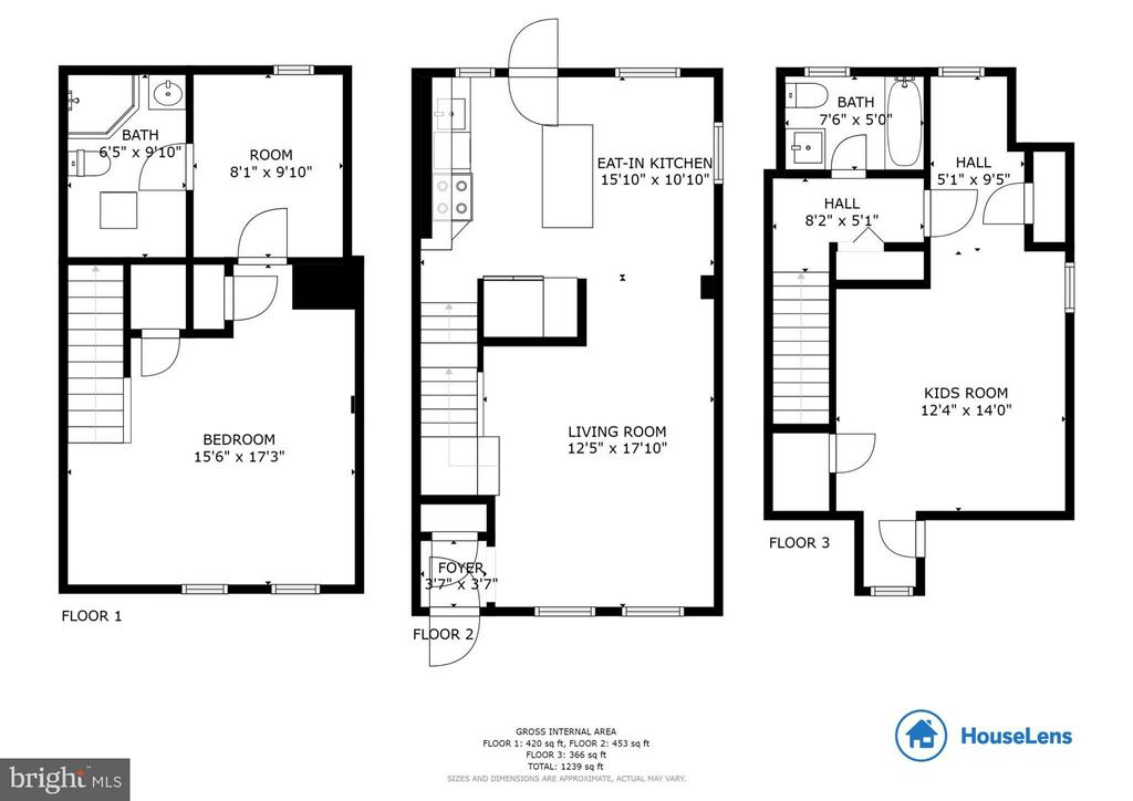 Floor Plans - 3304 WAKEFIELD ST #A, ARLINGTON