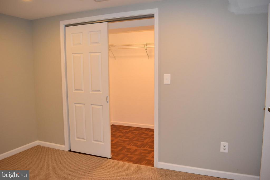 Bonus Room in Basement with Walk-In Closet - 108 JORDAN ST, ALEXANDRIA