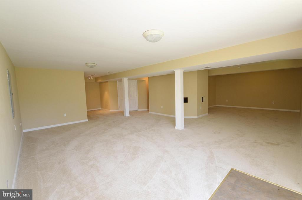 Finished Lower Level neutral carpet and paint - 35791 CHAPEL HILL CT, ROUND HILL