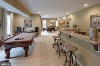Rec Room with optional Wet Bar - WEBER PL, OAKTON