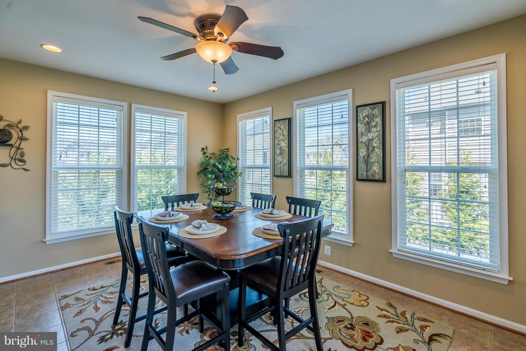 Breakfast Room off the Kitchen - 42970 TEALBRIAR PL, BROADLANDS