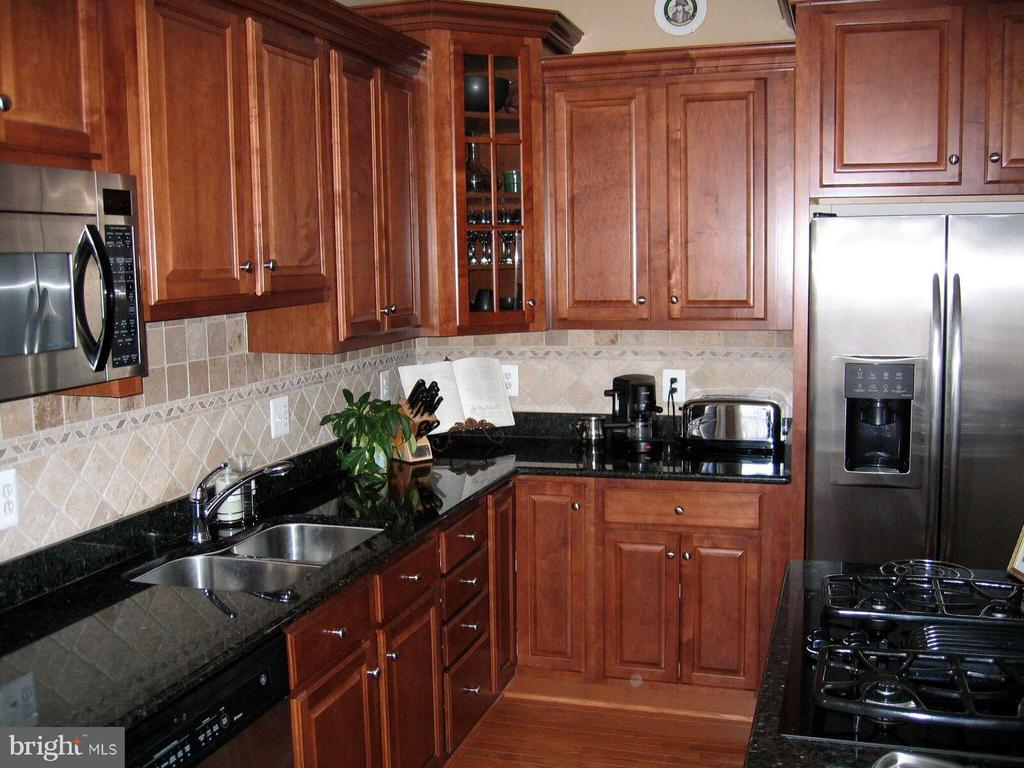 Gourmet Kitchen with Granite Counters - 21934 WINDY OAKS SQ, BROADLANDS