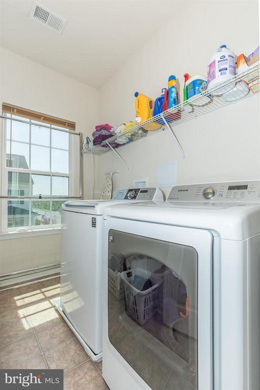 Upstairs laundry room! - 5011 SMALL GAINS WAY, FREDERICK