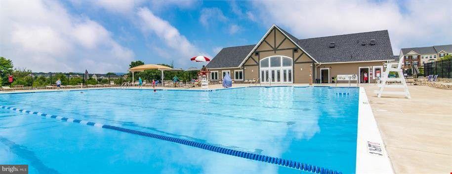 Huge community pool! - 5011 SMALL GAINS WAY, FREDERICK