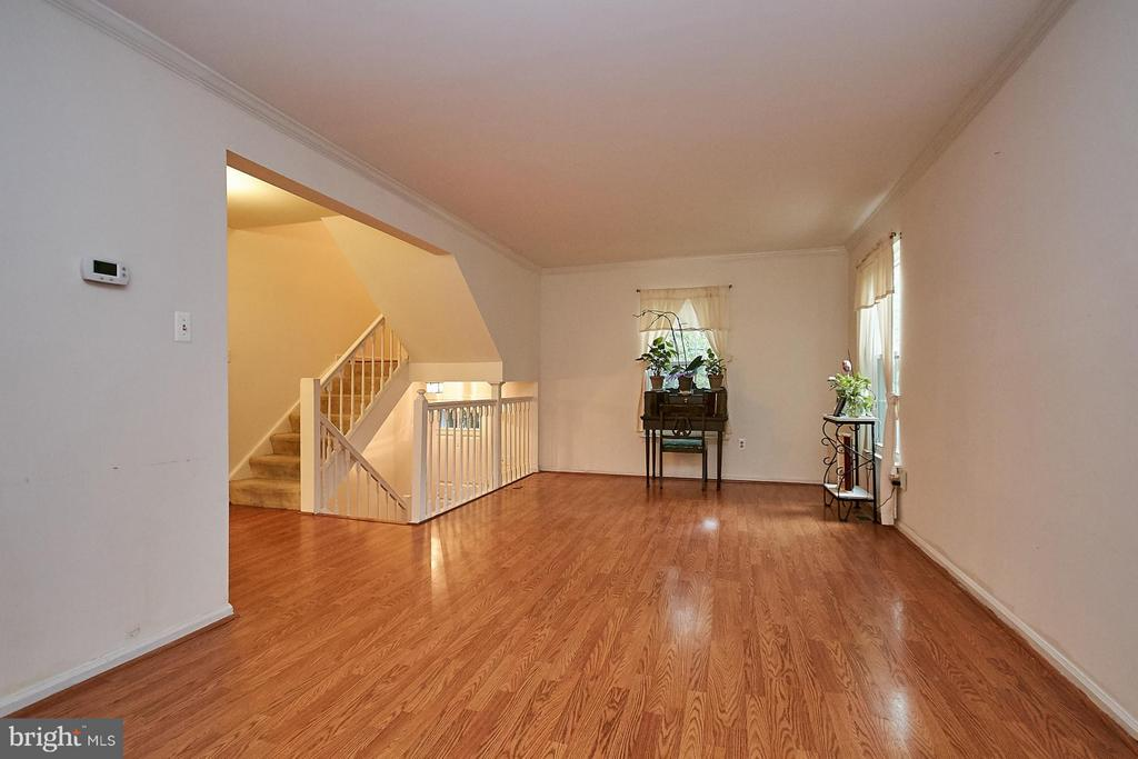 Huge Main Level Living Room - 10882 OAK GREEN CT, BURKE