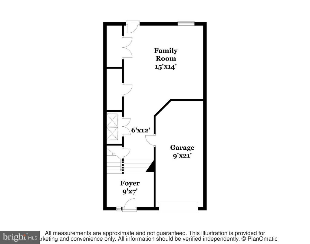 Lower Level Floor Plan - 11438 ABNER AVE, FAIRFAX