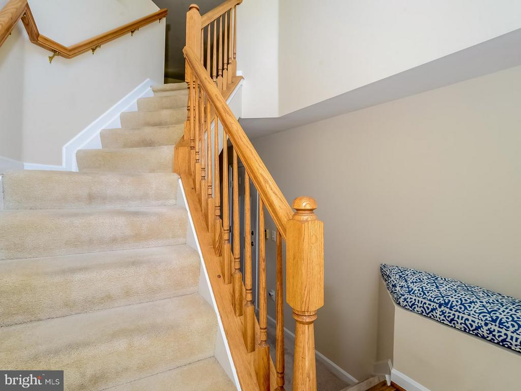Entry Foyer - 11438 ABNER AVE, FAIRFAX
