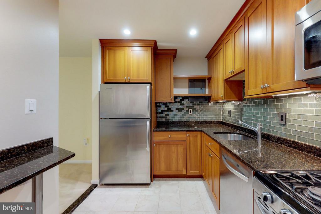 Ceramic Tile Floor*Granite Counters - 200 MAPLE AVE #604, FALLS CHURCH