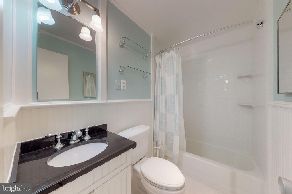 Totally Updated Bathroom Including Flooring - 200 MAPLE AVE #604, FALLS CHURCH