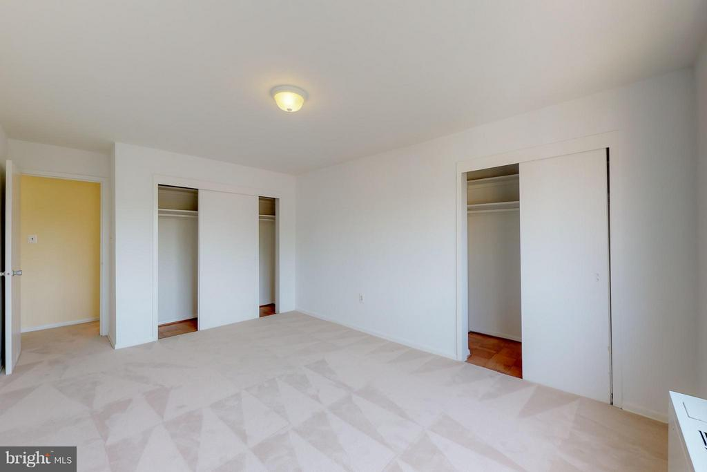 Two Closets in Bedroom 1 - 200 MAPLE AVE #604, FALLS CHURCH