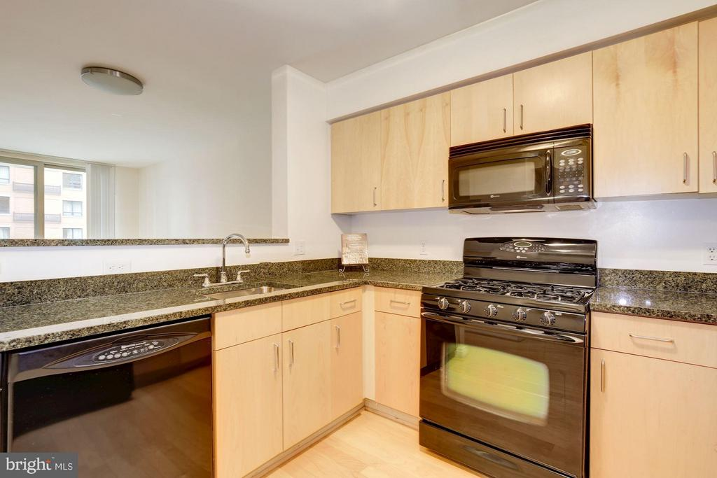 Granite countertops plenty of counter space - 1000 NEW JERSEY AVE SE #626, WASHINGTON