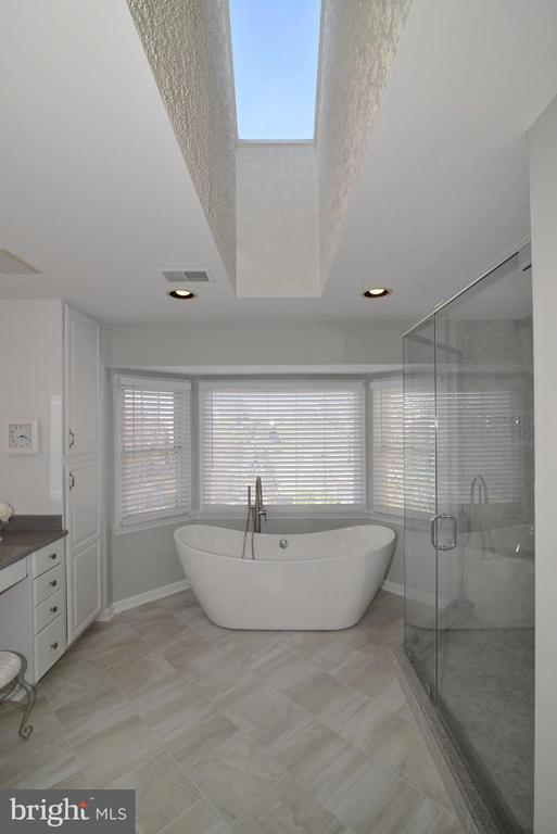 Bath (Master) - 21983 HYDE PARK DR, ASHBURN