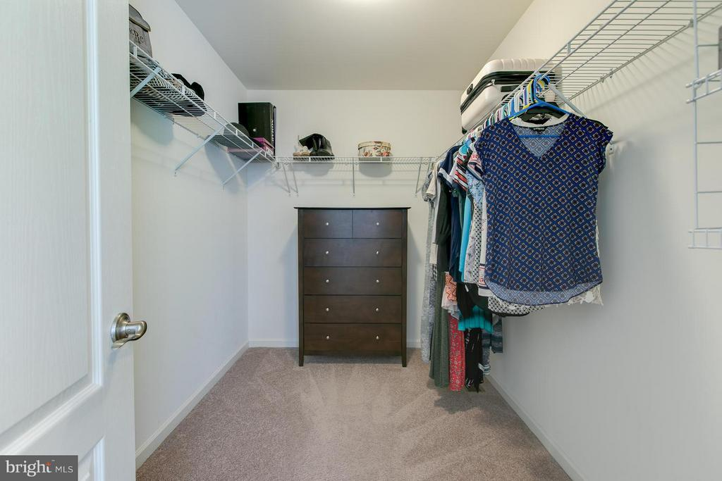 One of Two Spacious Master closets!!! - 73 WAGONEERS LN, STAFFORD