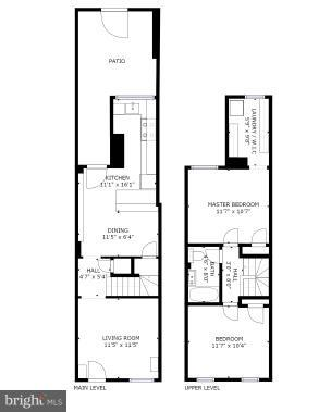 Floorplan - 1544 D ST SE, WASHINGTON