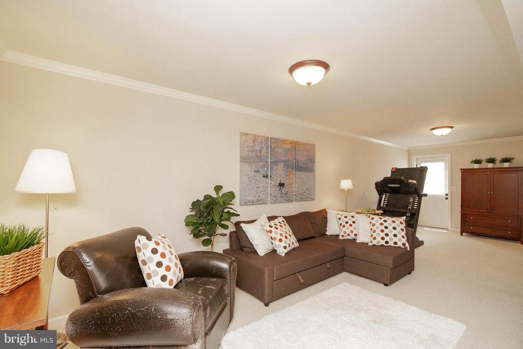 Basement Rec Room - 14951 SLIPPERY ELM CT, WOODBRIDGE