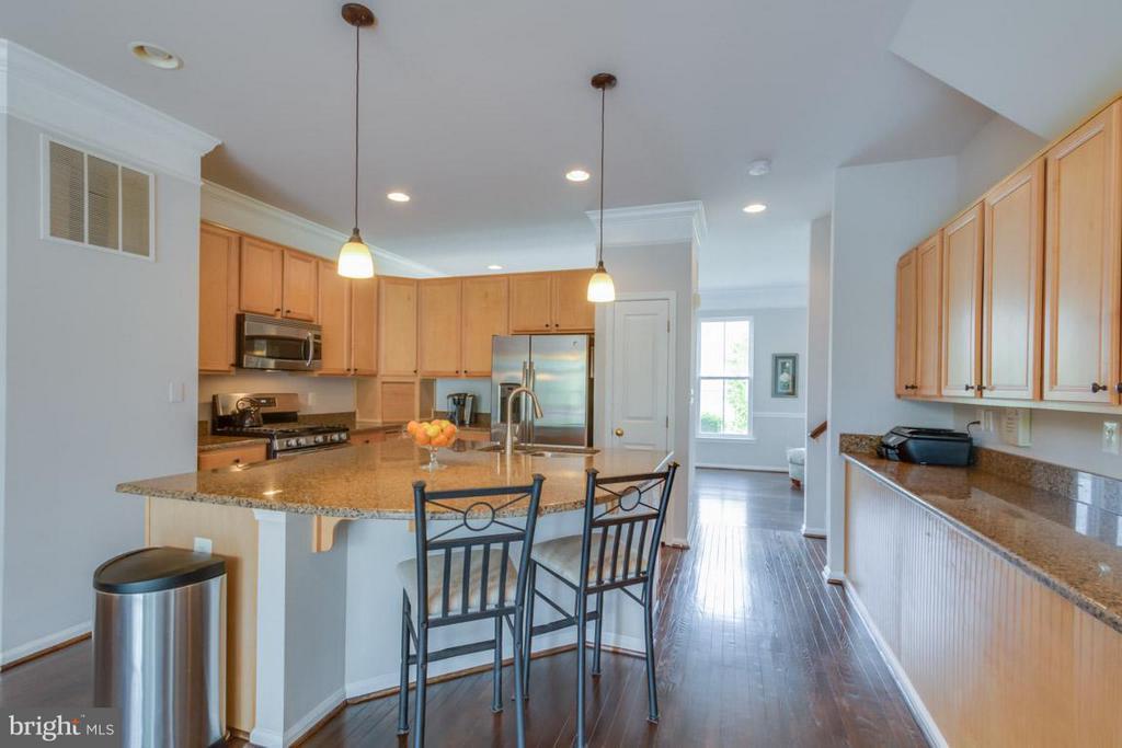 Kitchen - 22862 LIVINGSTON TER, ASHBURN