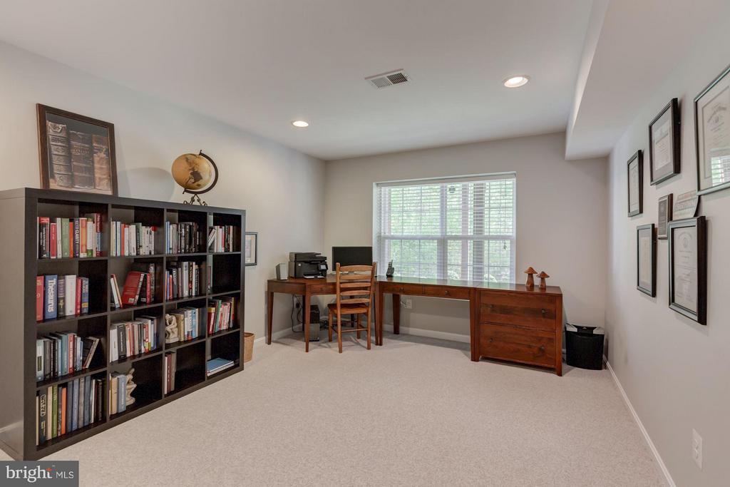 Lower level bedroom - 17235 FOUR SEASONS DR, DUMFRIES