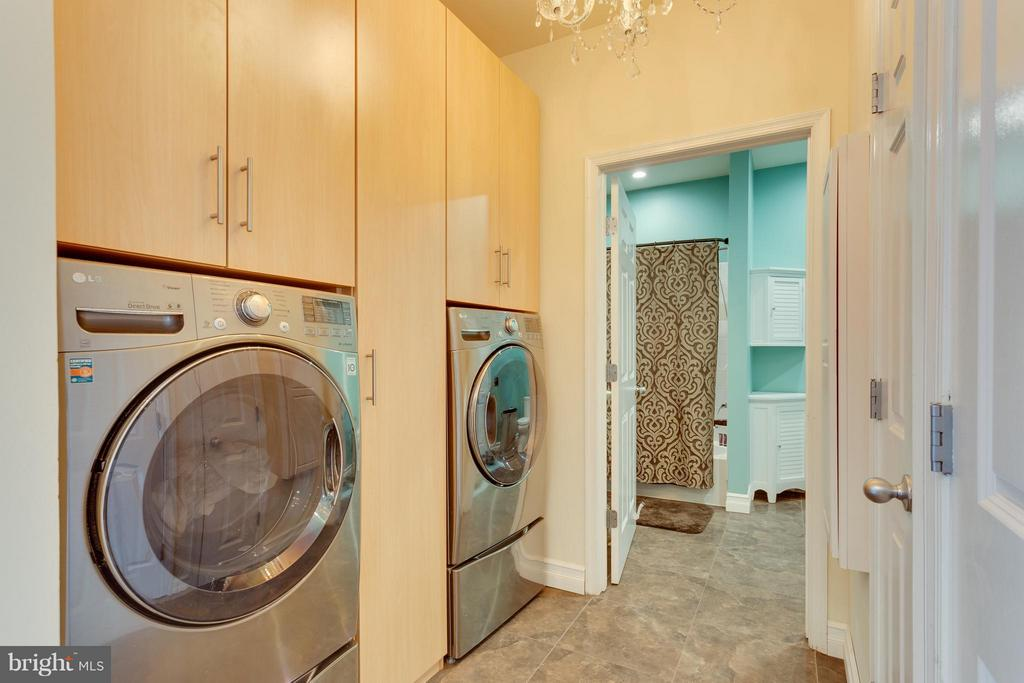 Laundry Area with tons of storage - 2321 25TH ST S #2-415, ARLINGTON