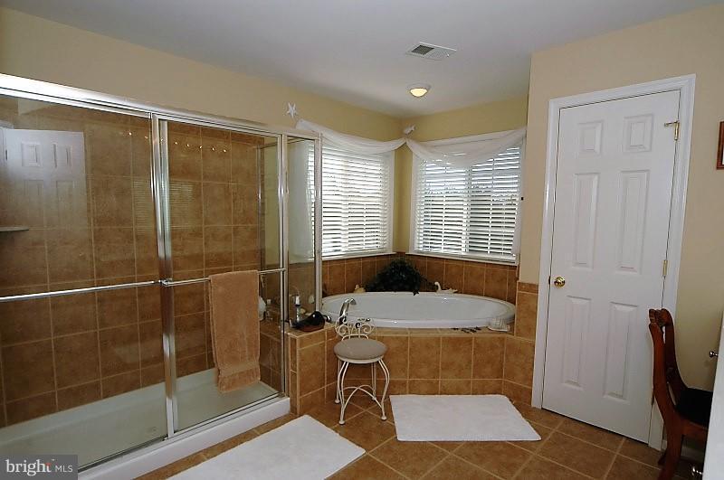 Master Bathroom with Soaking Tub - 14865 TIMOR CT, HAYMARKET