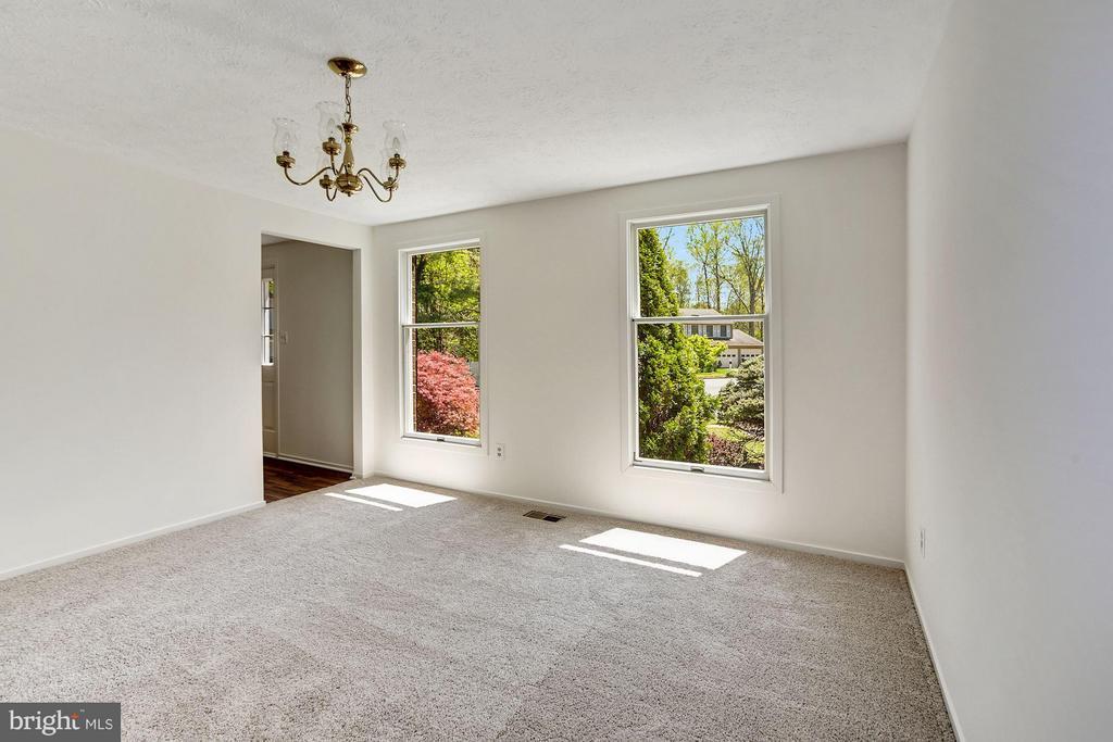 Dining Room, new carpet - 6247 GARRETSON ST, BURKE