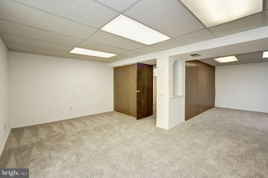 Basement rec room and den - 6247 GARRETSON ST, BURKE