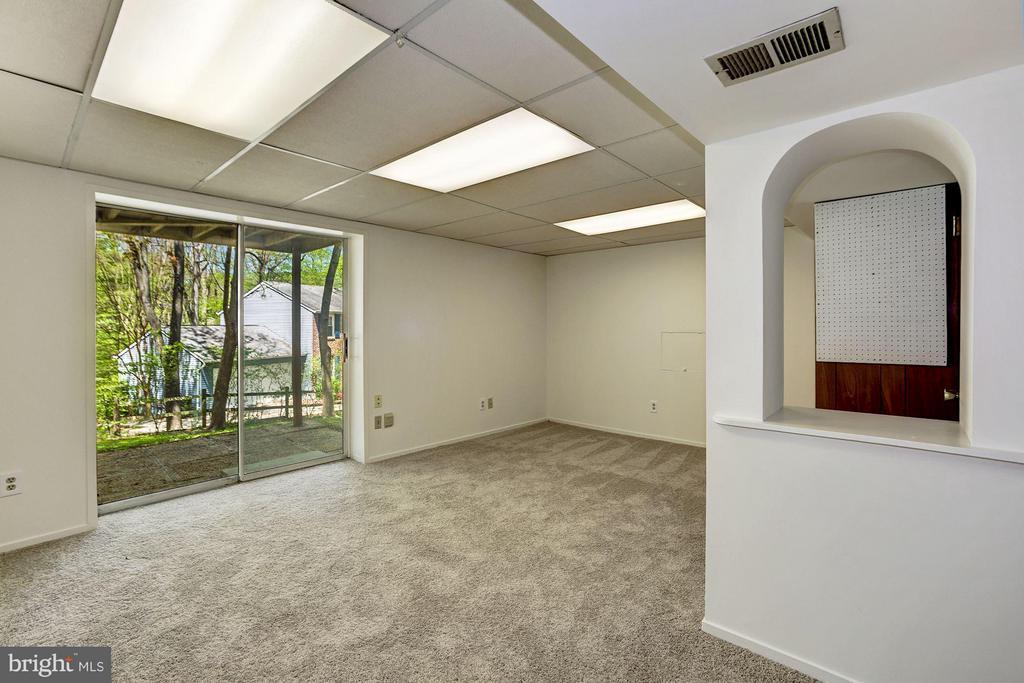 Basement rec room with view - 6247 GARRETSON ST, BURKE