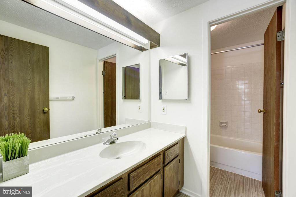 Hall Bath, new floor - 6247 GARRETSON ST, BURKE