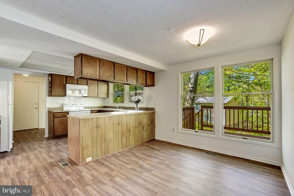 Breakfast area and kitchen - 6247 GARRETSON ST, BURKE